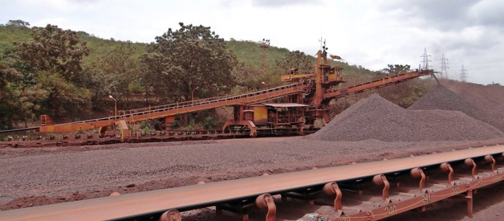 Bauxite mines in Guinea